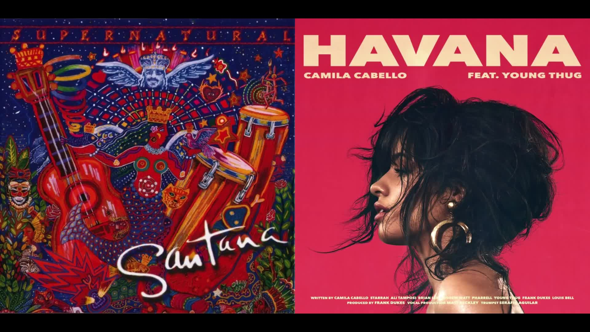 Santana vs Camila Cabello - Smooth vs Havana (Mashup. .. Sounds okay, but its hard to beat Santana with Rob Thomas