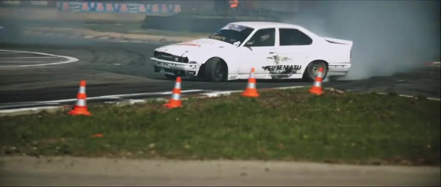 too long. .. he drift he skid but most importantly he compac