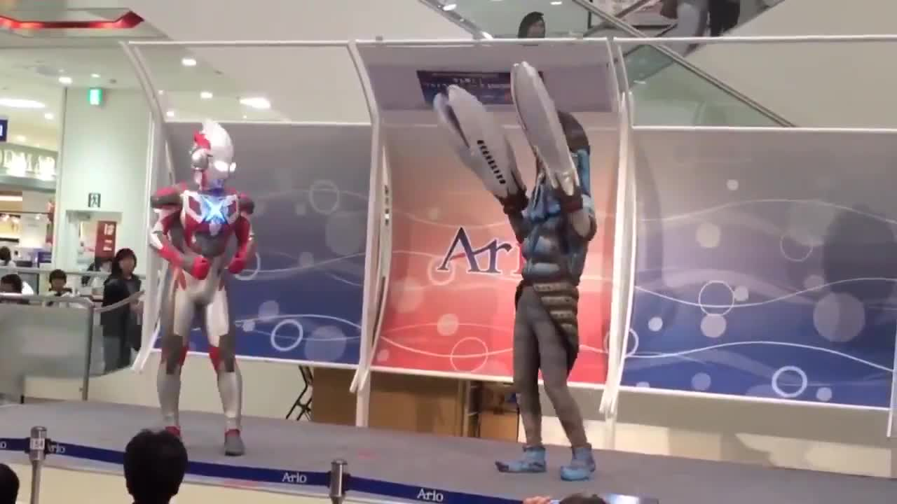 No respect. .. How come some ultraman dude sized and some kaiju sized