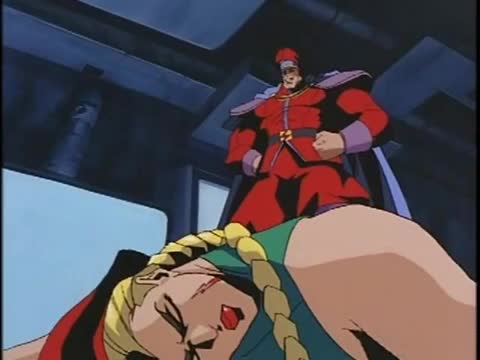 My favorite scene from the Street Fighter cartoon.. .