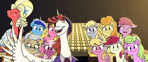 The End. .. I can't believe i was here when MLP first started and that it's now over and i'm still here. I remember the first volley of MLPosts like it was yesterday. The c