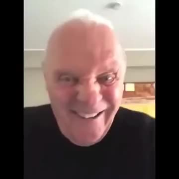 Sir Anthony Hopkins listens to metal. Hannibal Corpse.. that's an edit here's the real one Source: bro trust me
