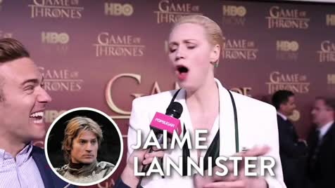 The thirst for Jaime en Lannister. .. Lmao. Even Kit Harringtons actual wife wants that fat Jamie