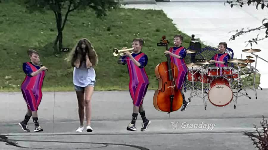 trumpet boy is number one. .. number one baby