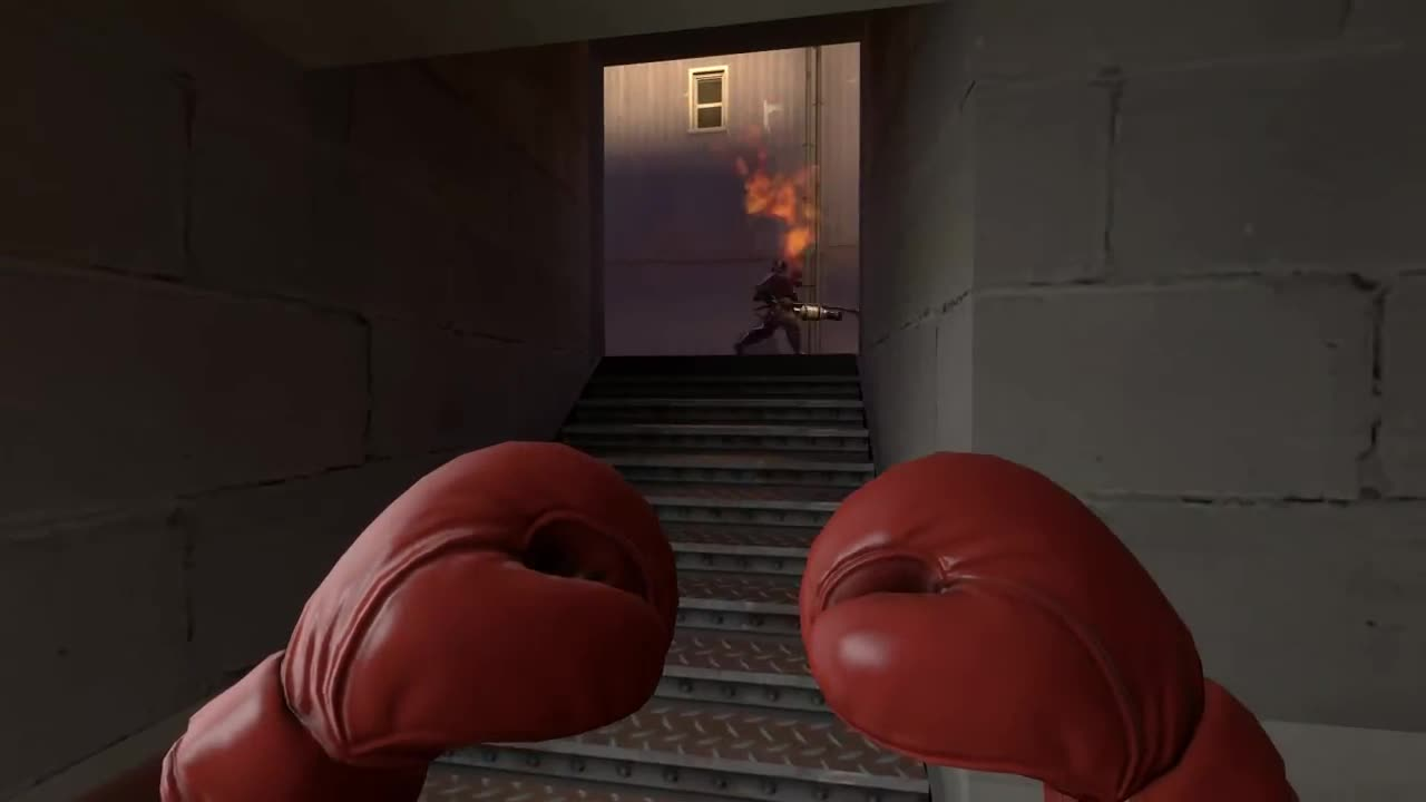 punch. The Boxing Gloves in this game are underrated... Then there's that one guy who taunts after a kill