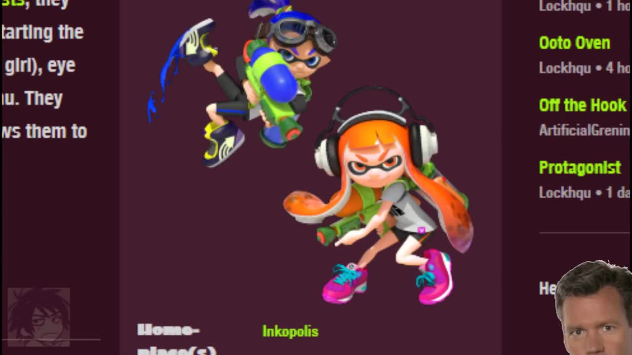 INKLING GIRLS ARE MADE FOR _______. join list: SnortingVideogames (123 subs)Mention History join list:. jesus christ that squid scream