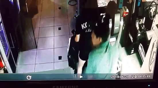 Ass sniffer in Korea. .. Jesus