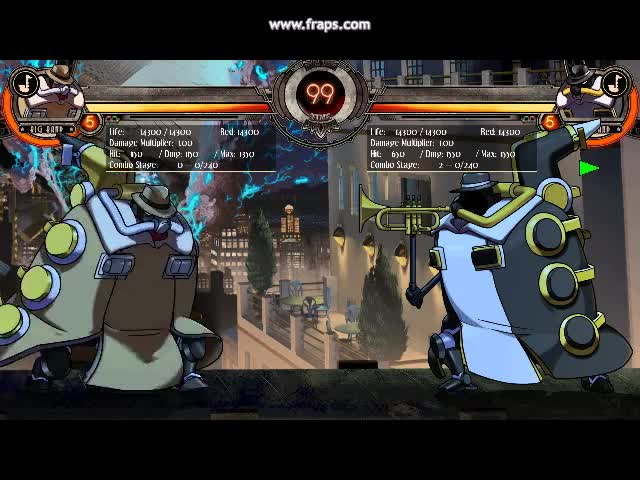 The Big Band Never Ends. He's Big Band, yes Big Band Plays whatever a big band can Instruments, any size Stops Skullgirls, on the rise He's Here! Here comes tha