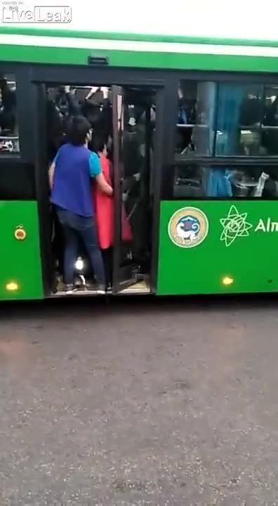 """Bus. .. """"I my way into this, i'll my way out!"""""""