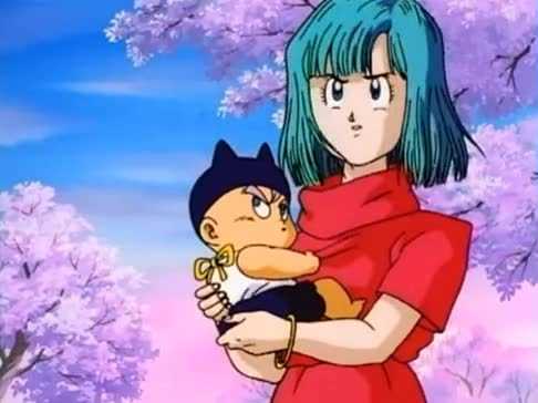 Trunks is going. .. to become a princess i'm so proud