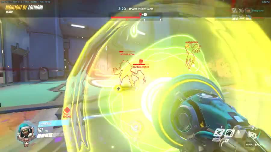 Reversing the Dragons. I honestly don't know if we had a Hanzo on our team and he did that or if I did prevent their Hanzo from doing his... The Genji on your team deflected it