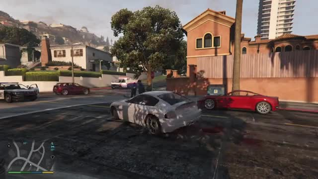 GTA Gifs/WebMs. That guy is pretty much as dead as you can be. Very good cop. Intense Carwash Snowball fight turns violent Questionable paramedic skills Frankli