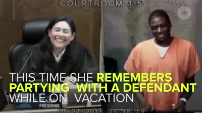 This judge,. .. She was the only white chick at an all black high school that's why she knows everyone she judges