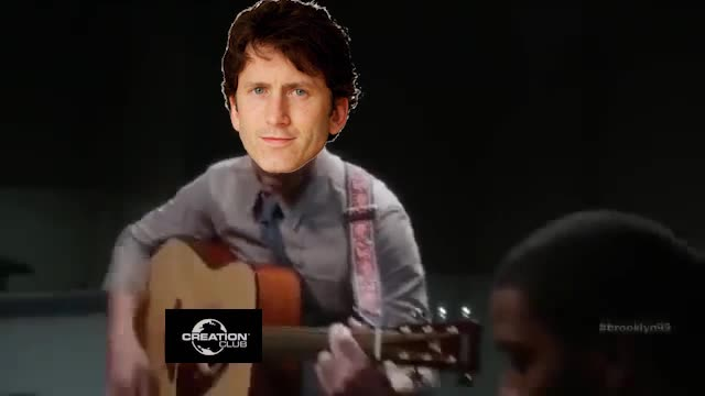 T o d d. We still love you Todd <3.. I actually like Blades. Fallout got a decent mobile game, bout time elder scrolls got one too.