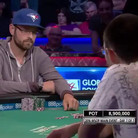 Professional Poker. .. I'm upset that the fag won