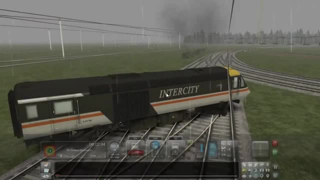 Eurotrain Drift Simulator. .. I've been waiting to use this for so long