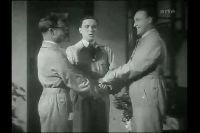 The three Kucks. .. what are these nazis saying
