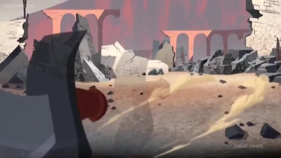 Scatman Lives On. In loving memory of Samurai Jack's shooting star.. Friendly reminder that, yes, he was cool, but he was also a remorseless and rather enthusiastic sociopathic mass murderer and a literal killing machine.