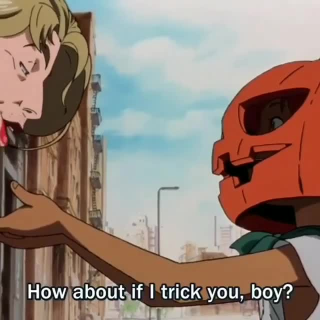 Trick or treat?. .. was he gonna molest that kid?