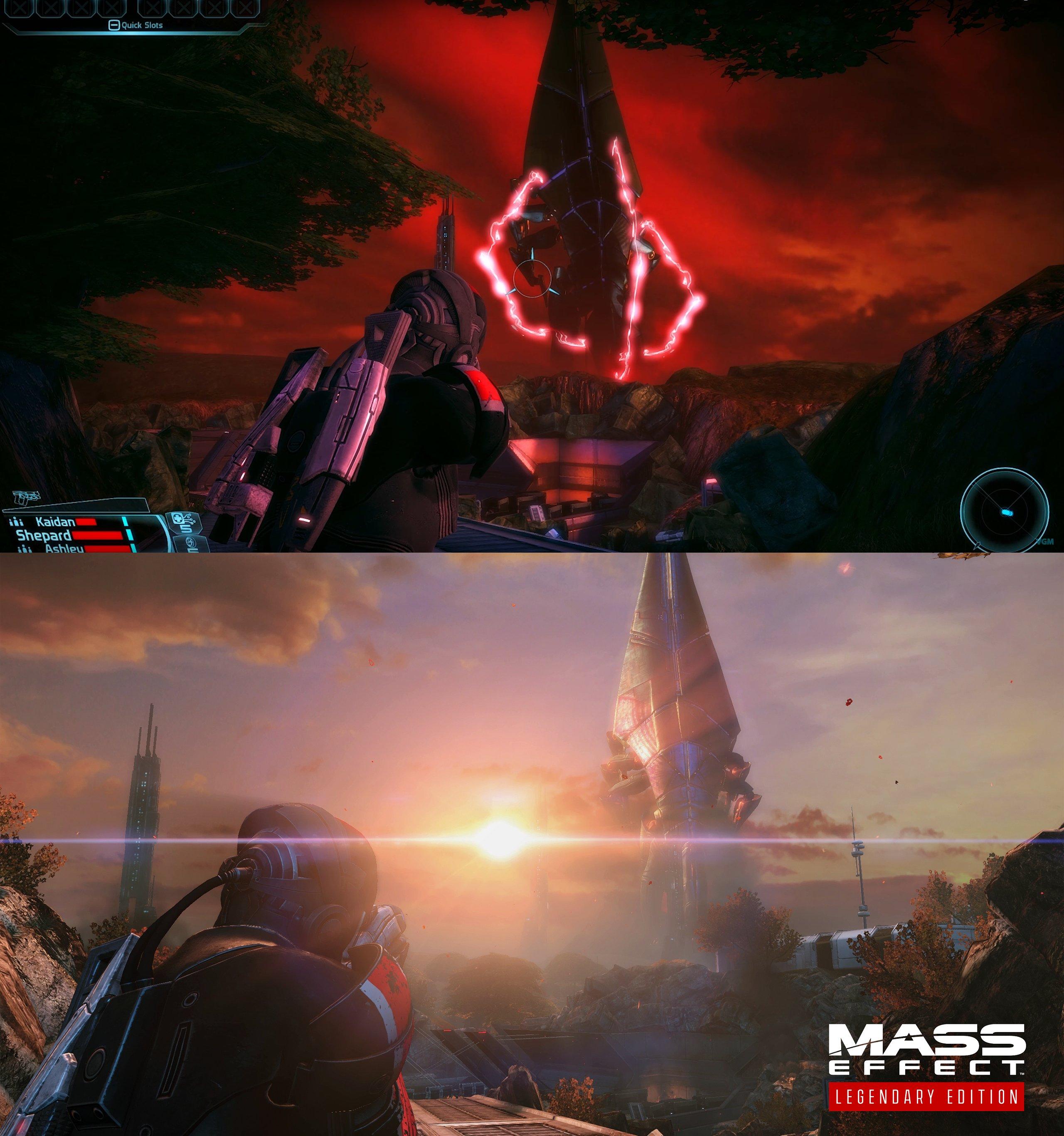 Porovnanie vizuálu pôvodnej a remastrovanej hry