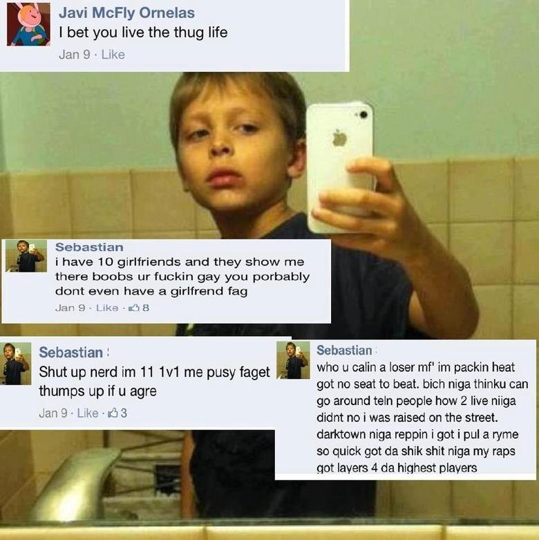 """1v1 . me u 1v1 faggot. 3 I bet you .html,', the thug life Jere it,', l Like gifter/ ramen'. i have 10 girlfriends and they Show -. were boobs """" fuckin gay yew p"""