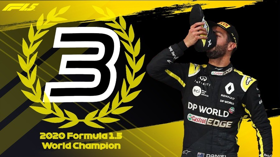 2020 Formula 1.5 Champions. join list: Motorsports (190 subs)Mention History.. That man needs to get his foot fettish under control geez
