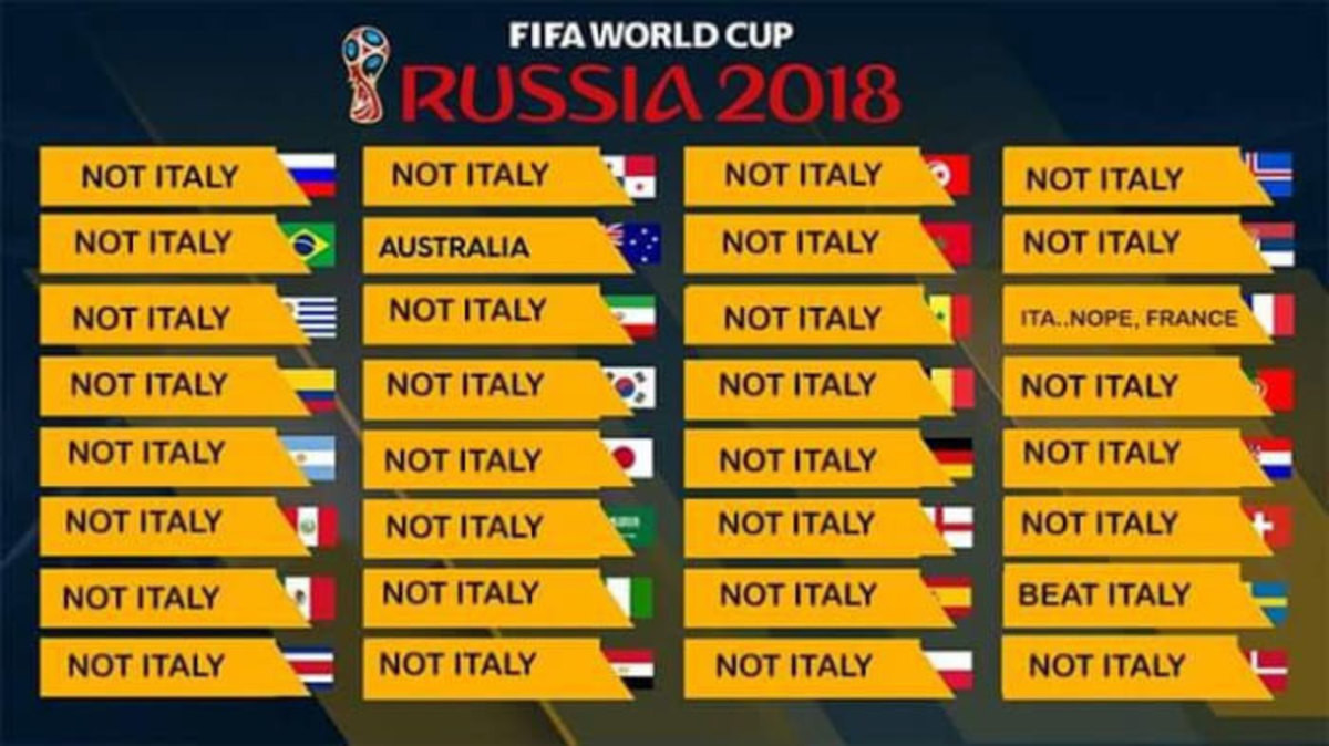 32 countries that made it to the WC 2018. . NOT ITALY NOT ITALY ) NOT ITALY NOT ITALY NOT ITALY NOT ITALY NOT ITALY ' NOT ITALY AUSTRALIA NOT ITALY . NOT ITALY