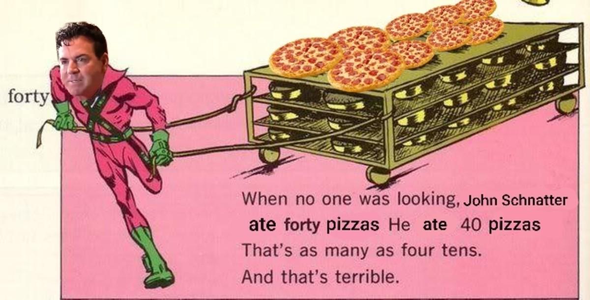 40 pizzas. ..