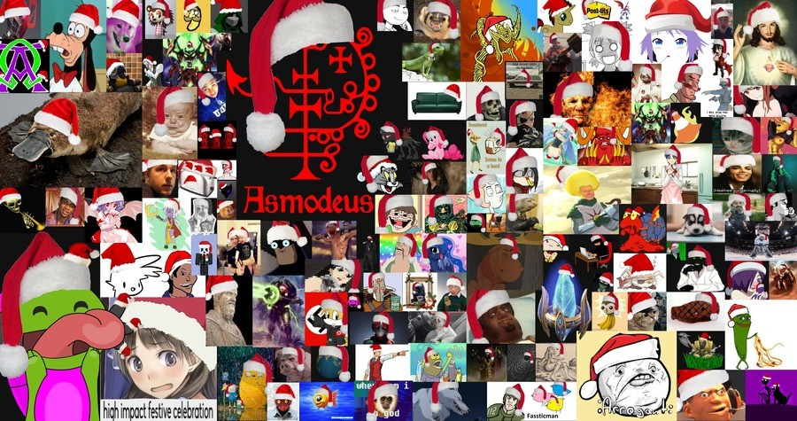"""4th Annual Community Santa Hat Event!. Long ago, near the end of 2014 - admin stickied his post to the front page that said: """"Figured I'd try this out. Mod"""