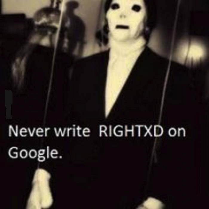 "A parent of a teenager that was falsely. . dll"" Never write RIGHTXD on Google.. THE HORROR!!!"