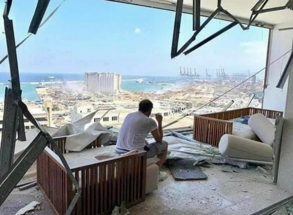 """A Room With A View. .. """"Get a giant window for the living room"""" they said """"There practically indestructible and what could go wrong"""" they said"""
