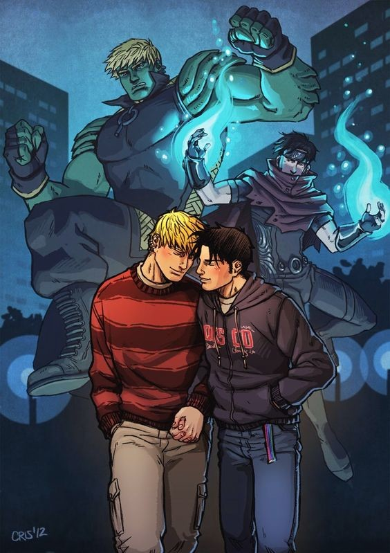A Thing Marvel did Right. Lets talk about these two for a second. Hulking and Wiccan (or Theodore Teddy Altman, and Robert Billy Kaplan), are two of the young a