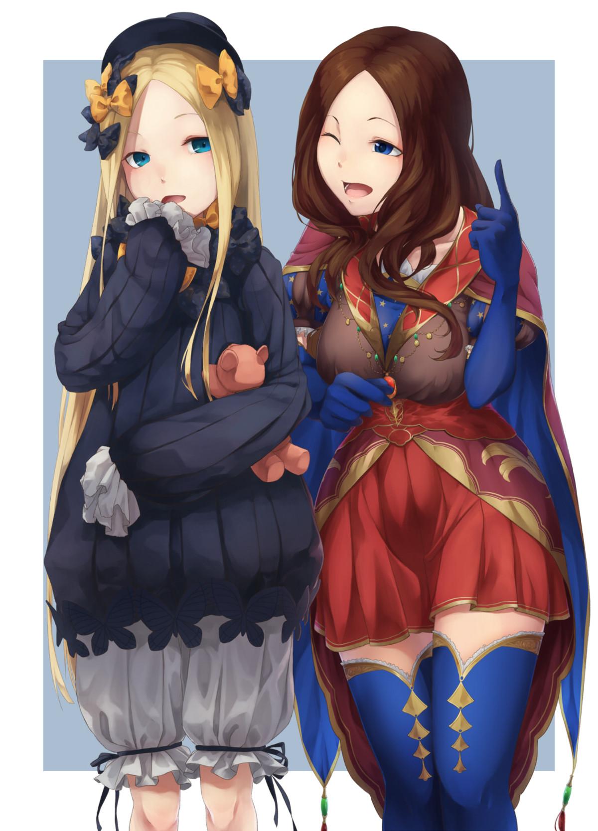 Abigail and Da Vinci. ..