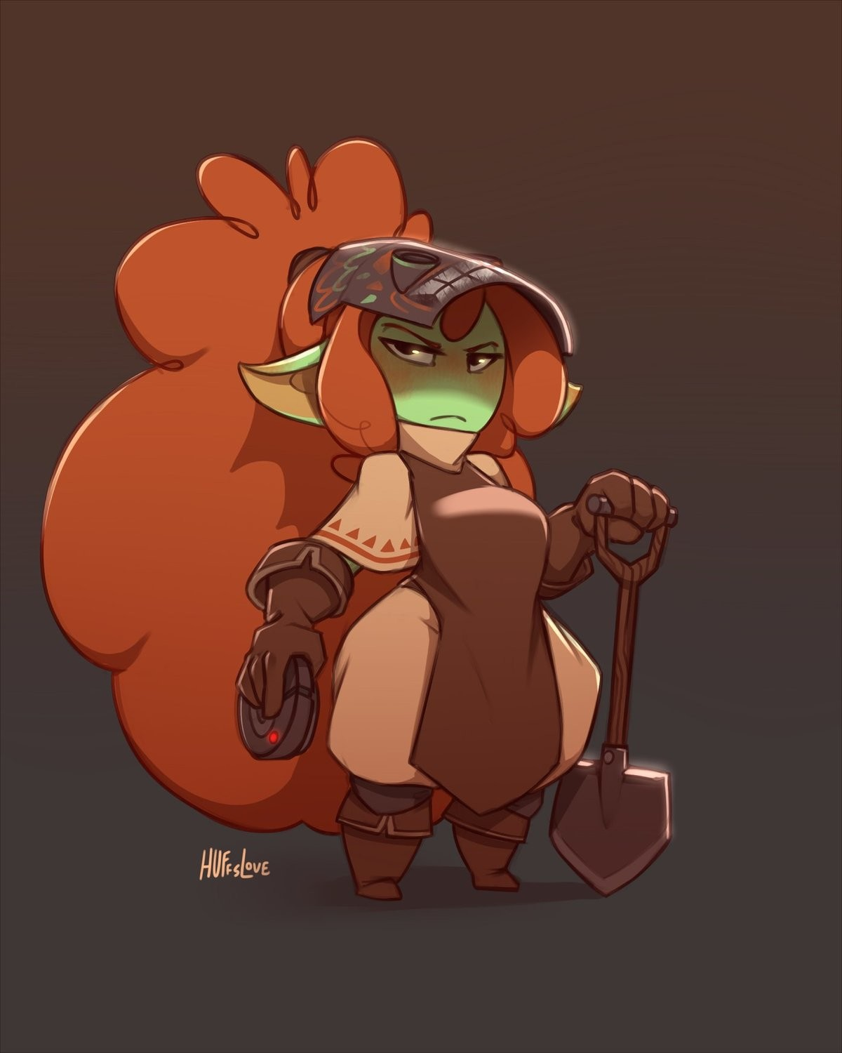 Abigail the Trapmaker by Huffslove. ..