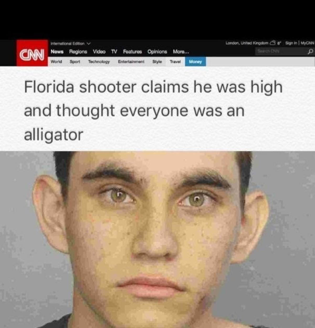 absorbed abject Partridge. . rft) g 'Juana l Florida shooter claims he 'ribbit, S. ii. i] ', thought '' was an alligator. That's impossible. Drugs are illegal. Making something illegal makes it disappear.