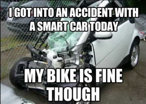 "Accident. . INTO "" ACCIEDENT WITH. Don't think so really..."