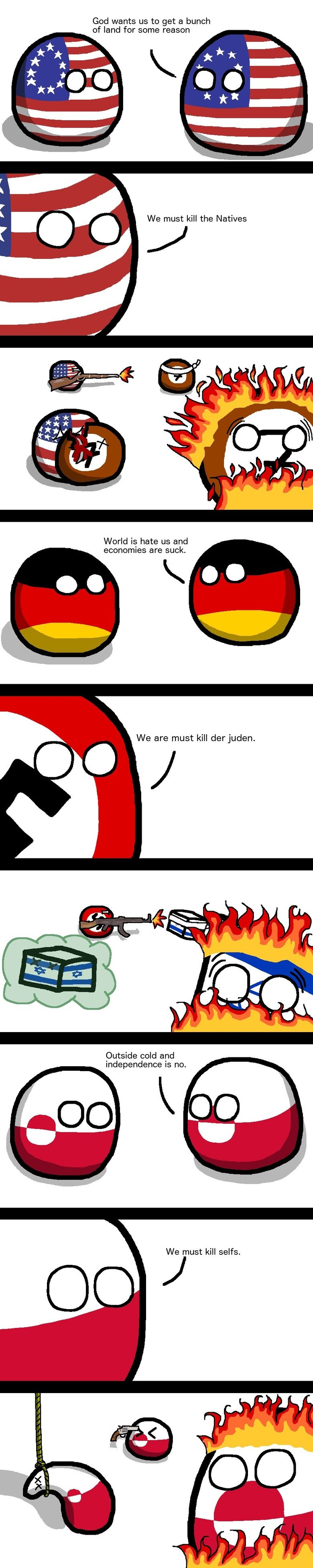 Action Plans. Poland is laughingstock and cannot into space. God wants us to get a bunch of land for some reason We must kill the Natives World is. hate us and