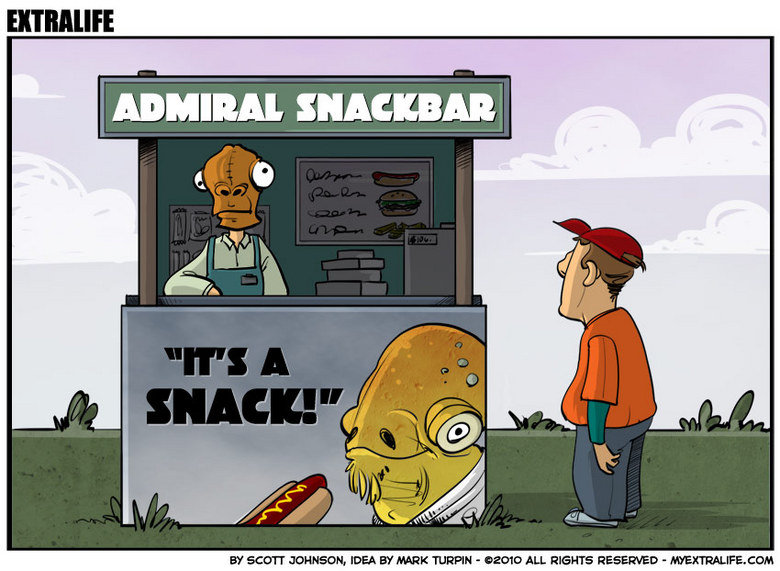 """Admiral Snackbar. I found it funny.<br /> Don't forget to thumb :3. ADMIRAL ET KEN ; IDEA ET' HRH WHEN . ALL HIEGHTS E' EHEH' ¢"""" ED - LT. ."""