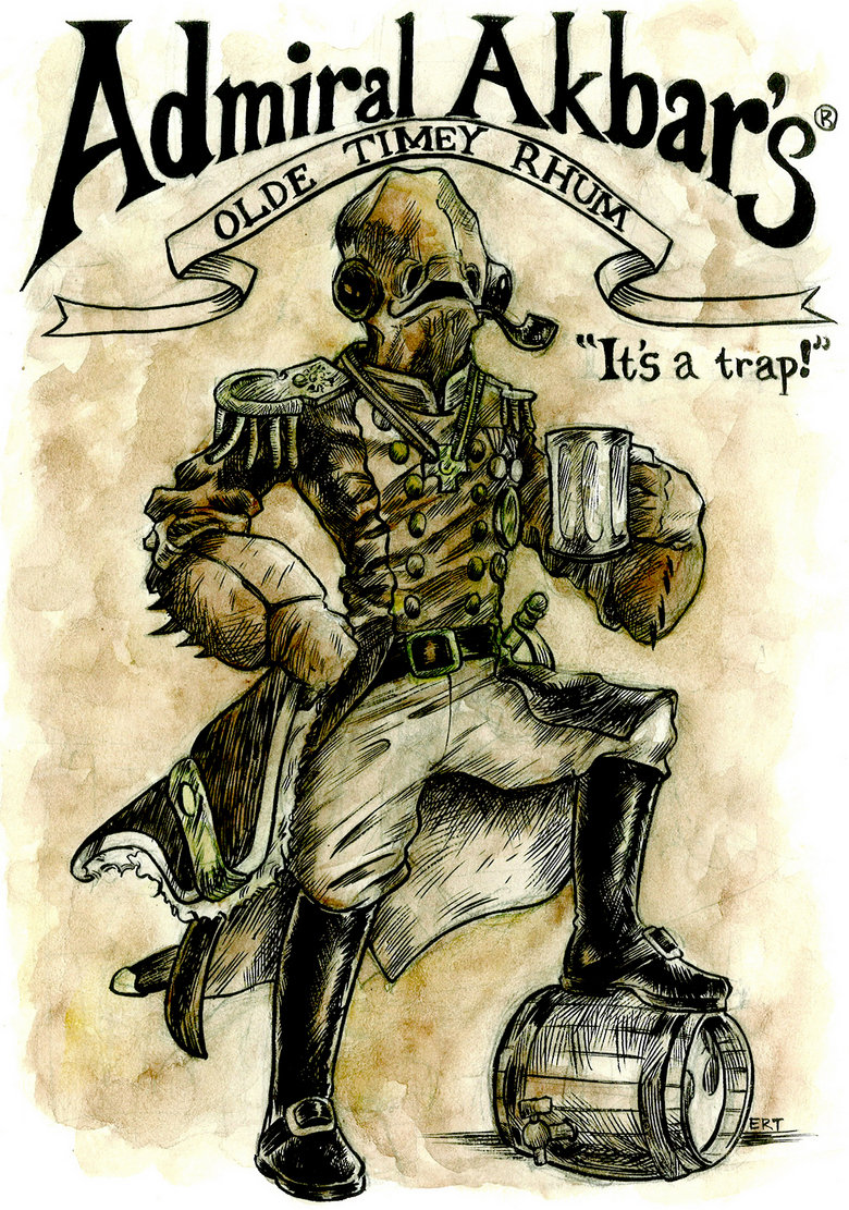 """Admiral Akbar. <a href="""" target=_blank>funnyjunk.com/movies/6430/Epic+Funnyjunk+Collab+2/</a>.. he should do a starbuck commercial. """"IT'S A FRAP!"""""""