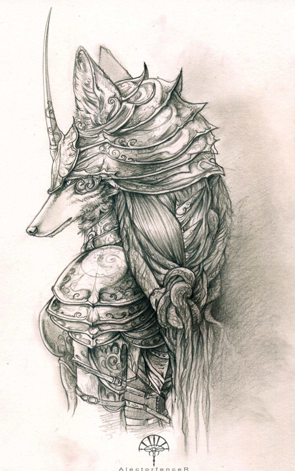 AlectorFencer . Wanna show your friends some furry art? No? Too bad, you're gonna anyway because this is Furry Art You Can Show Your Friends numero