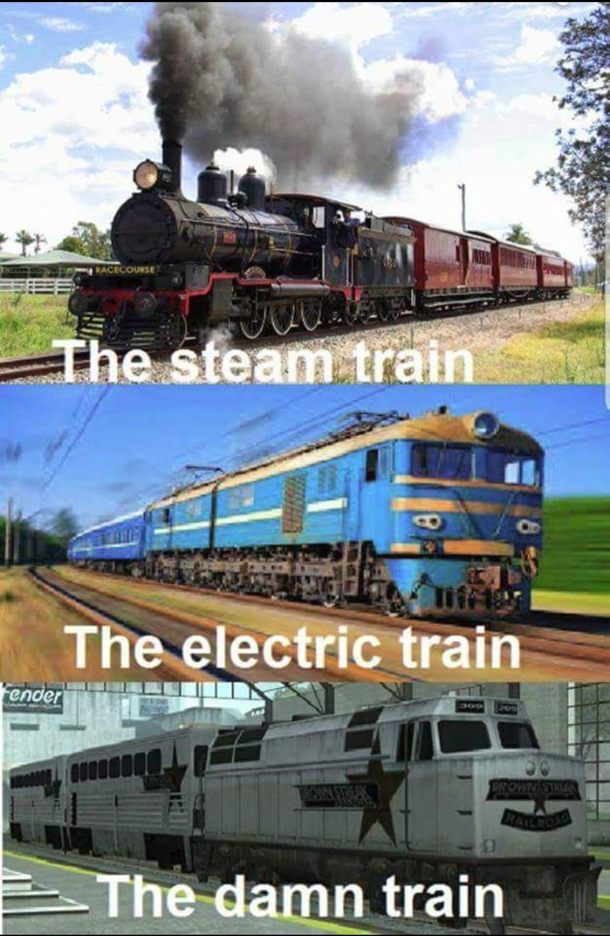 All you had to do was follow.... join list: VideoGameHumor (1703 subs)Mention Clicks: 607707Msgs Sent: 5982060Mention History. The train. THE COLE TRAIN BABY!