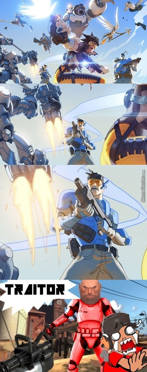 Ammu Hexhu Ceavatun. .. My headcannon has always been that Tracer is somehow related to Scout Medic trained Mercy Heavy is Zarya's uncle or grandpa or something Engineer taught torbjor