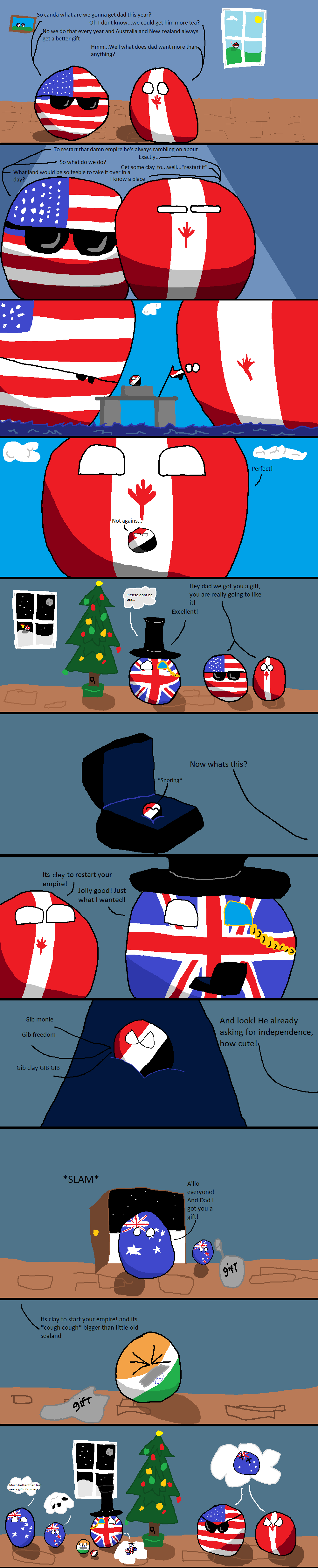 An Anglo Christmas. . t, ttll. A Perfect Representation. Pro Paint Skills FTW