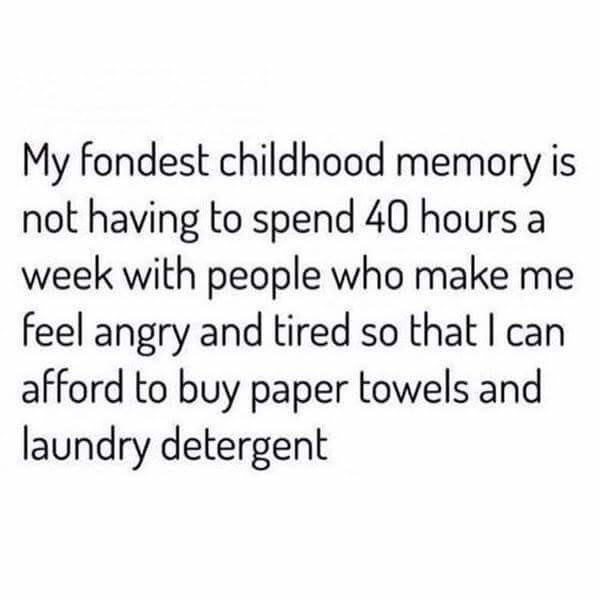 And cleaning supplies. I hate buying cleaning supplies.