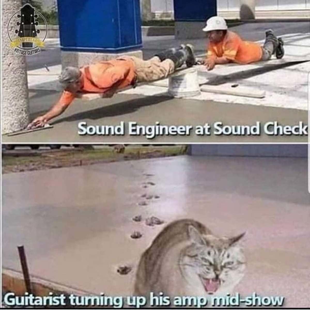 annoyed musical Technician. .. Any sound engineer who knows what he/she is doing will expect this.