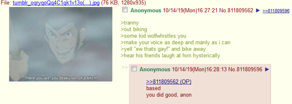 Anon goes Biking. .. >Make your voice as manly as I can Please stop messing with my voice sir.