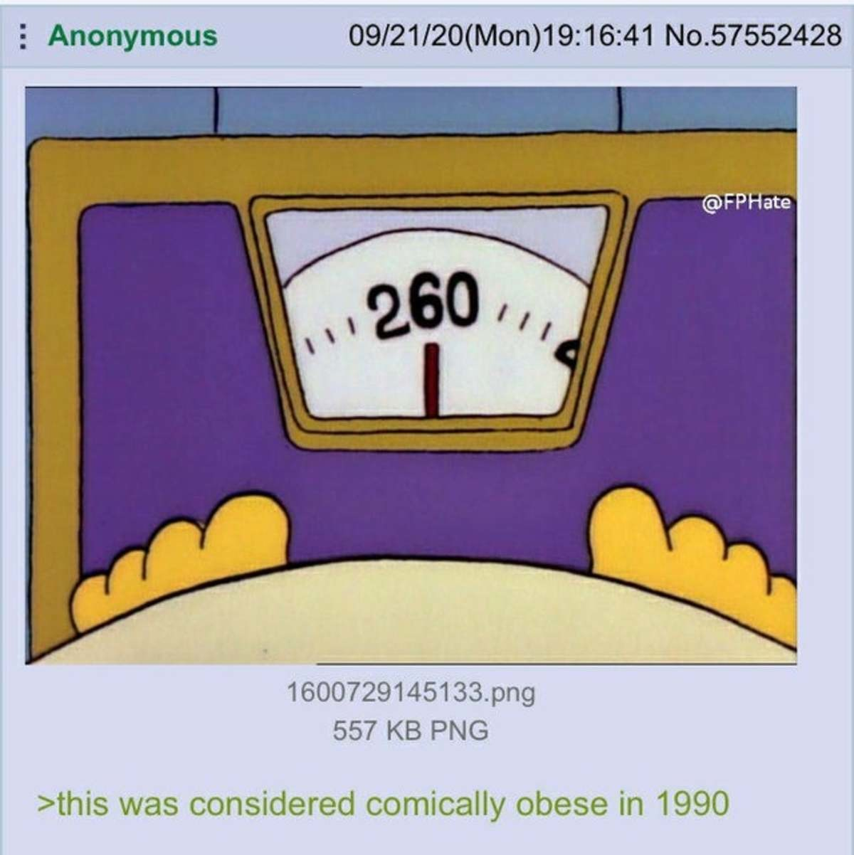Anon is Obese. .. It still is