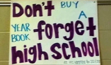 archer Quelea. .. don't buy a year book, forget high scool