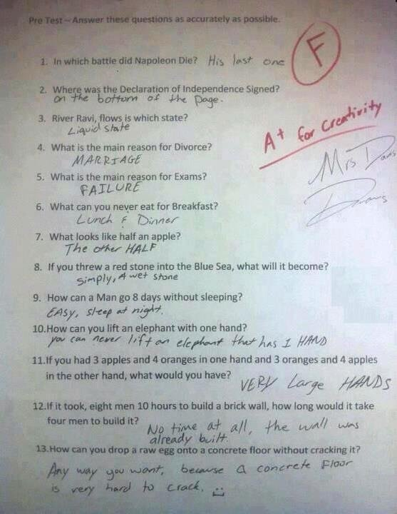 Atleast he got an A+ !. . Sea, what will it became? arethe. I have leftover dinner for breasfast all the time.