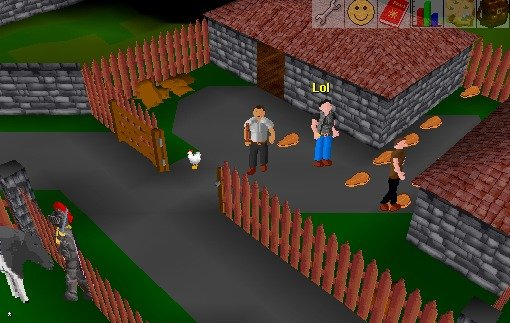 Back in my days. When I was a kid Runescape looked like this!. 9 If 1 AH